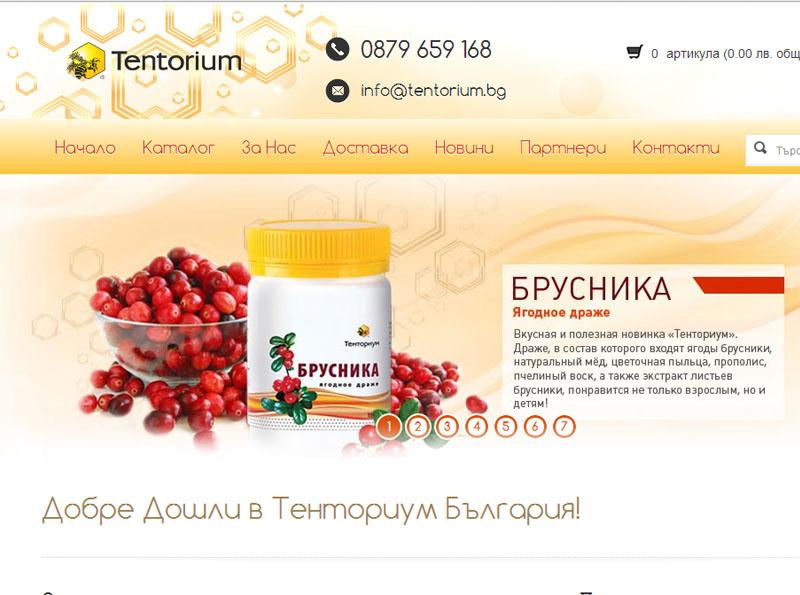 Изработка на интернет магазин за поръчки на био продукти